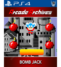 Arcade Archives: Bomb Jack Trophies