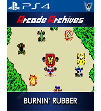 Arcade Archives: Burnin' Rubber Trophies