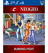 Arcade Archives: Burning Fight Trophies