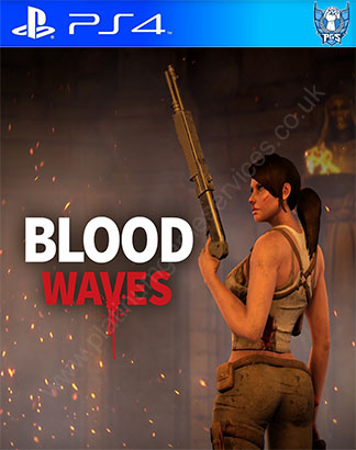 Blood Waves Trophies - Platinum Game Services | PS4 Platinum
